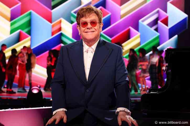 Elton John Set as Newest Host for 'YouTube Pride 2021′ Livestream Event