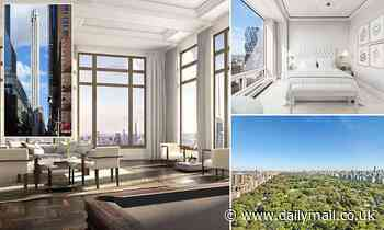Mystery buyer snaps up two condos for combined $157.5million on NYC's Billionaire's Row
