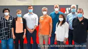 MS-Schramberg hat Nase vorn - Erstes Unternehmen impft gegen Corona - Schwarzwälder Bote