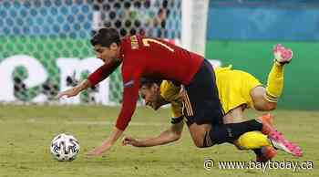 Spain held to 0-0 draw by Sweden at Euro 2020