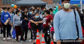 Nearing 600,000 COVID deaths, US continues vaccination push - Al Jazeera English