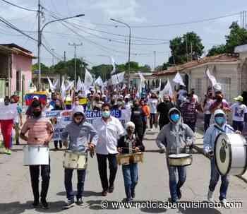 AD marchó en Quíbor para impulsar el plan de «Salvación Nacional» - Noticias Barquisimeto