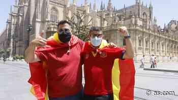 Ambientazo en Sevilla antes del debut de España - AS