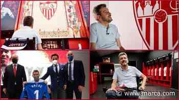 El homenaje del Sevilla a Unzué - MARCA.com