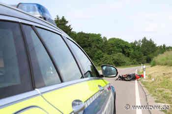 Schwerer Motorradunfall bei Alfdorf: Kollision mit Krötentunnel - Blaulicht - Zeitungsverlag Waiblingen