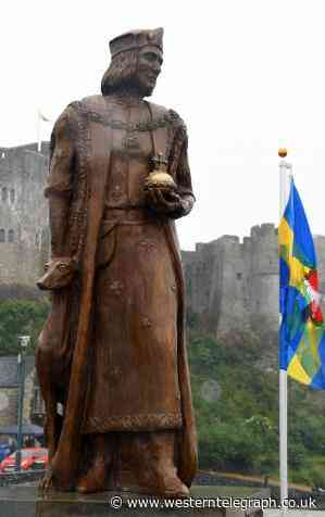 It's been four years since the unveiling of the Henry Tudor statue - Western Telegraph