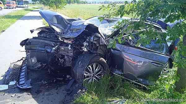 Unfall in Minden-Dützen mit Verletzten - Radio Westfalica