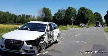 Zusammenstoß auf Bergkirchener Straße: Verletzte nach Autounfall - Mindener Tageblatt