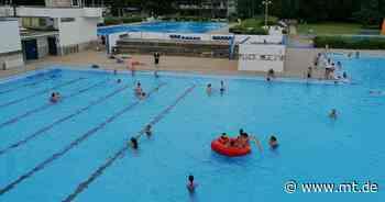Sommerbad: Becken für Nichtschwimmer und Rutsche sind fertig - Mindener Tageblatt