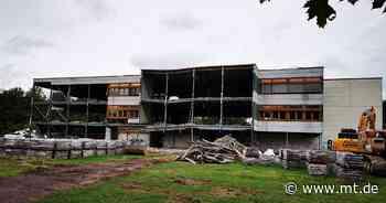 Der Neubau der Sekundarschule Am Wiehen in Minden hat begonnen - Mindener Tageblatt