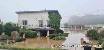 [Photos] Lillebonne et Saint-Romain. Des inondations après les orages - Le Courrier Cauchois