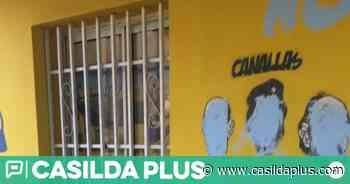 Vandalizaron el local de la filial de Rosario Central - CasildaPlus