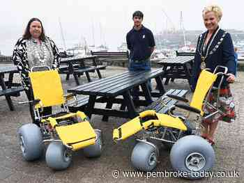'Accessible Tenby' scheme enhances facilities for the seaside town - Pembroke & Pembroke Dock Observer
