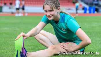 Leichtathletik: Hannah Fricke vom SV Werder Zweitbeste in Deutschland - WESER-KURIER - WESER-KURIER
