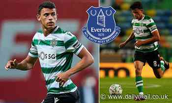 Everton hold talks with Sporting Lisbon as they eye swoop for midfielder Matheus Nunes