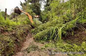 En Salento hay varias zonas afectadas por las fuertes lluvias de las últimas horas - El Quindiano S.A.S.