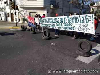 Familias del barrio La Sexta de Rosario se movilizan contra el desalojo - La Izquierda Diario