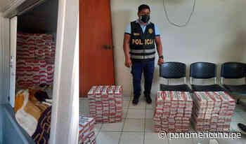 Tumbes: decomisan más de 60 mil cigarrillos de contrabando en ómnibus interprovincial - Panamericana Televisión