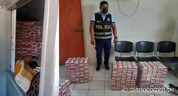 Incautan 60 mil cigarrillos de contrabando en camarote de ómnibus en Tumbes - Diario Correo