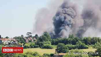 Crews tackle Bromham Social Centre fire