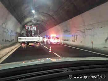 Scontro tra mezzi pesanti sulla A26, coda tra Ovada e Masone - Genova24.it