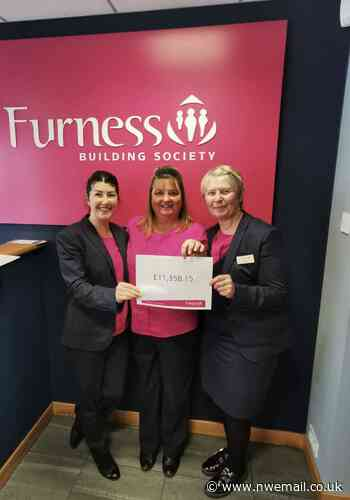 Furness Building Society awards Rosemere Cancer Foundation thousands - NW Evening Mail