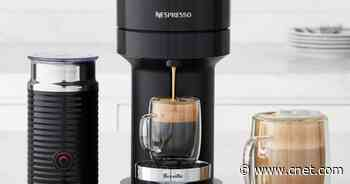 Father's Day gift: Save $35 on this sharp Nespresso capsule coffee maker     - CNET