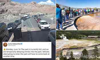 National Parks are becoming crowded with trails overrun even before 9am as visitors rush to outdoors