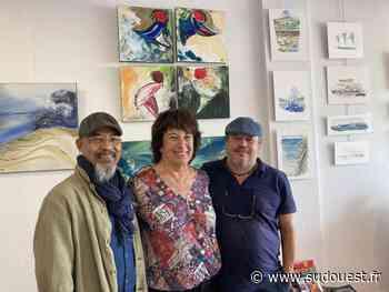 Hendaye : la galerie Atalante reçoit 5 artistes différents dont les œuvres se répondent harmonieusement - Sud Ouest