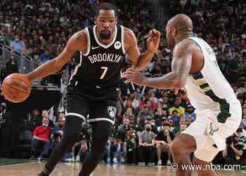 Nets vs. Bucks Game 5: Kyrie Irving, James Harden Out for Brooklyn