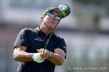 Mickelson at Home and Running Out of Time for US Open Title