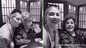 Michelle Salas presume emotivo reencuentro con su bisabuela Silvia Pinal - Las Estrellas TV