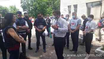 Ann Linde visits frontline town of Krasnohorivka in Donetsk region - Ukrinform. Ukraine and world news