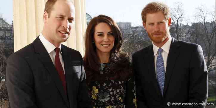 Prince Harry Texted Kate Middleton to Let Prince William Know About Lilibet's Arrival - Cosmopolitan.com