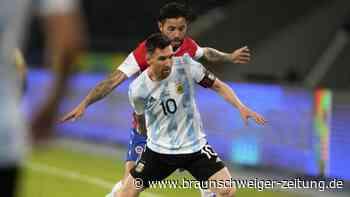 Argentinien und Chile trennen sich unentschieden