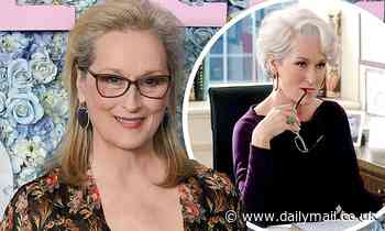 Meryl Streep says she was 'so depressed' while portraying Miranda Priestly in The Devil Wears Prada