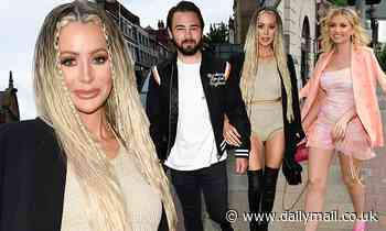 Olivia Attwood and Bradley Dack join a slew of stars for fashion range launch