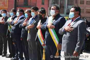Celebran 32 años sin grandes obras en Putina - Los Andes Perú
