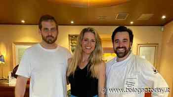 Hunziker e il marito Trussardi nel ristorante stellato del bolognese - BolognaToday