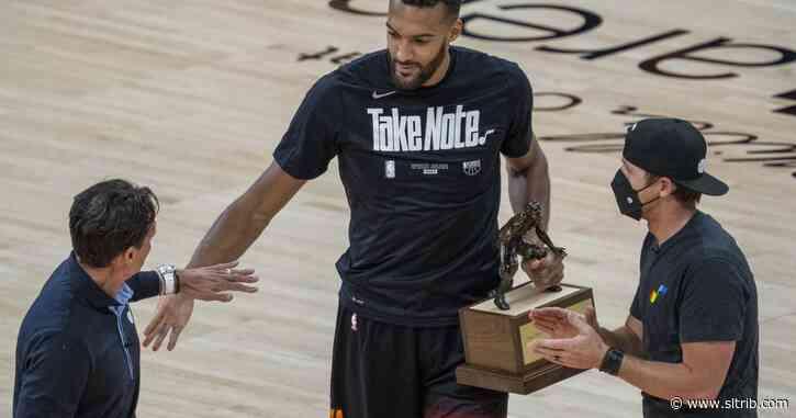Utah Jazz center Rudy Gobert a unanimous All-NBA Defensive first team selection