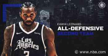 Kawhi Leonard Named To All-Defensive Team