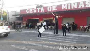 Manifestantes pedem eleição para prefeito em Itatiaia - Diario do Vale