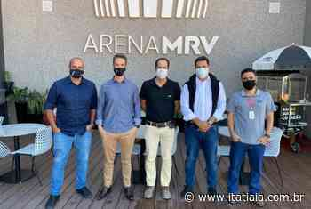 Presidente e diretoria da Itatiaia visitam a Arena MRV - Rádio Itatiaia