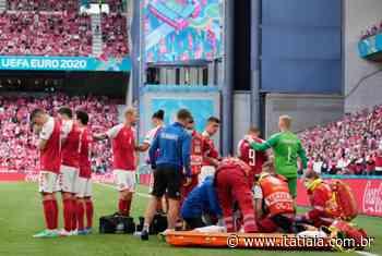 Jogador da Dinamarca desmaia e recebe massagem cardíaca durante Eurocopa - Rádio Itatiaia