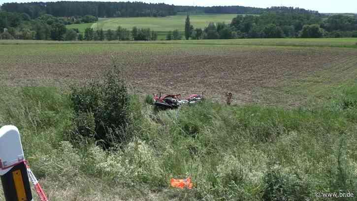 Tödlicher Motorradunfall bei Neustadt an der Aisch - BR24