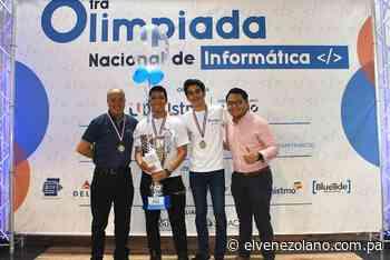 Colegio San Agustin ganador de la primera edición de la Olimpiada Nacional de Informática de Panamá   El Venezolano de Panamá - elvenezolano.com.pa