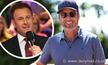 Chris Harrison looks happy and relaxed at charity golf tournament after leaving Bachelor Nation