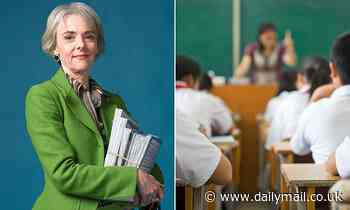 LUCY KELLAWAY at 58, she went to teach in a tough comp - and, she learned the hardest lesson of all