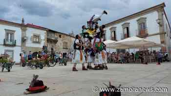 Miranda do Douro recupera a sus pauliteros un año después - Zamora News