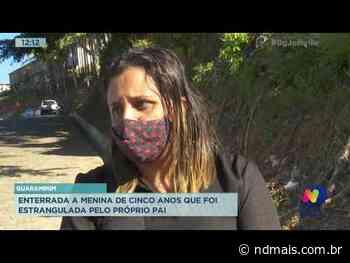 Guaramirim: Enterrada a menina de cinco anos que foi estrangulada pelo próprio pai - ND